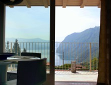 "Three rooms apartment ""La Perla"", Iseo Lake, Italy"