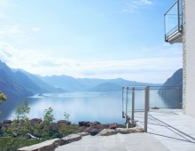 Elegant villetta, 3 bedrooms 2 bathrooms, private pool and lake view