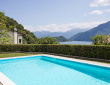 Lovely apartment in Residence with pool & stunning sea views, Sala Comacina, Como Lake