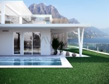 Luxury detached and semidetached villas, Lake Iseo