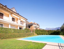 Two bedrooms & two bathrooms with sea views and swimming pool, Lenno, Como Lake