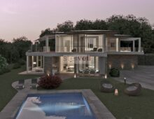 Elegant villa and redevelopment project at Lake Garda